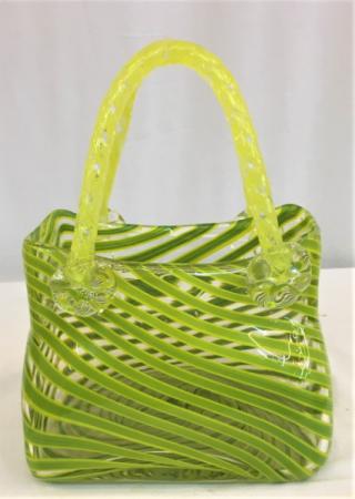 Green Swirl Pocketbook