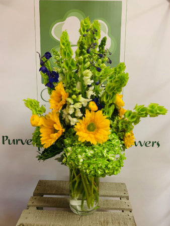 Green With Envy Spring Arrangement