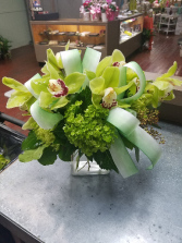 Green With Envy Vase Arrangement
