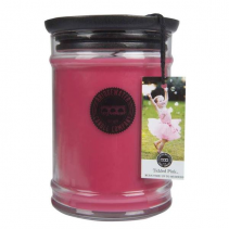 Greenleaf Candle 18OZ LARGE JAR TICKLED PINK