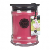Greenleaf Candle 8OZ SMALL JAR TICKLED PINK