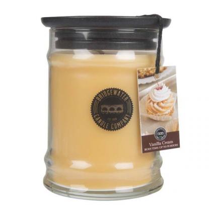 Greenleaf Candle 8OZ SMALL JAR VANILLA CREAM