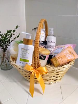 Greensical Pamper me Basket Vegan-Eco Gift Basket in Delray Beach, FL | Greensical Flowers Gifts & Decor