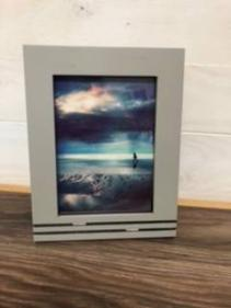 Grey frame engravable Available 5x7. or  4x6