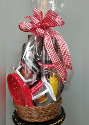 Grill Master Basket in Tulsa, OK | THE WILD ORCHID FLORIST