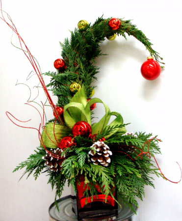 Christmas Grinch Decorations.Janet S Floral Design
