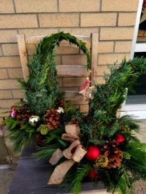 grinch tree christmas arrangement