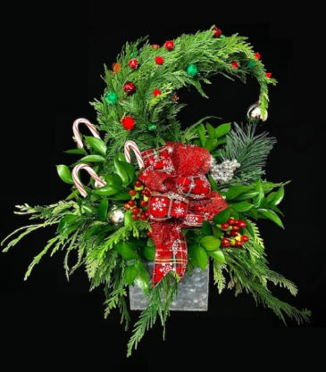 Grinch Tree Christmas Centerpiece