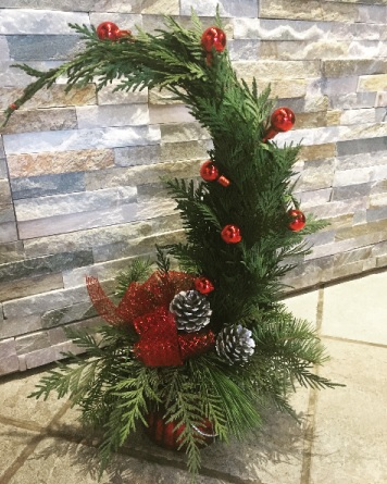 Grinch Tree Christmas Floral