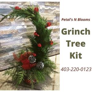 Grinch Tree Kit  in Calgary, AB   Petals 'N Blooms