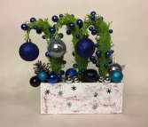 Grinch Tree Trio Christmas Arrangement