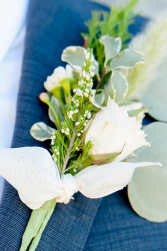 Groom's Boutonnierre  Rustic Chic