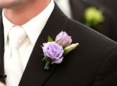 Groomsmen Boutonnière  Custom Made - Please Call for Pricing