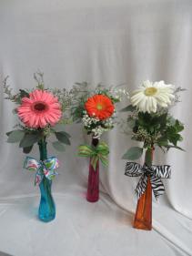Groovy Gerberas Fresh Vased Arrangement
