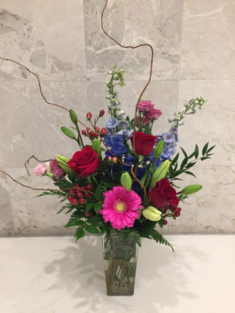 Growing Wild Vase Vase