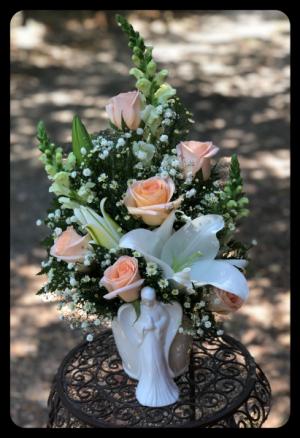 Guardian Angel Flower Arrangement in Bryan, TX | NAN'S BLOSSOM SHOP