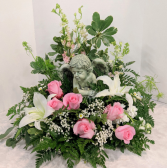 Guardian Angel  Sympathy Arrangement