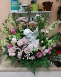 Guardian Angel Sympathy basket