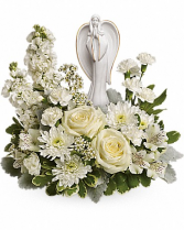 Guiding Light Bouquet Funeral Arrangement