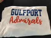 Gulfport Admirals Tshirt