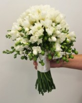 Freesia Bridal bouquet