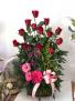 Lovely Rose Arrangement Rose Arrangement