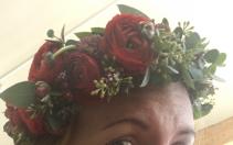 Half Crown Hair Wreath