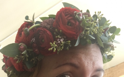 Half Crown Hair Wreath