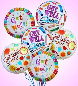 Half Dozen Get Well  Balloon Bouquet  in Winter Springs, FL | WINTER SPRINGS FLORIST AND GIFTS