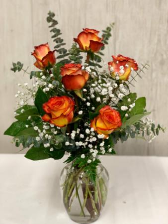 Half Dozen High Magic Roses  Valentine's Roses