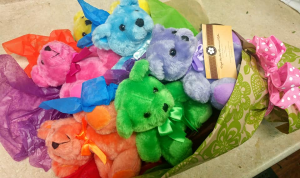 Half Dozen Hugs Teddy Bear Bouquet in Barre, VT | Forget Me Not Flowers and Gifts LLC