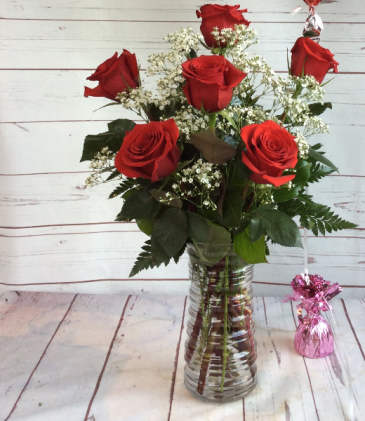 Half Dozen Premium Rose