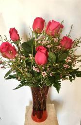 Half Dozen Roses Valentines