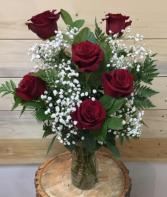 Half dozen Red  premium roses ✨