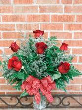 Half Dozen(6) Classic Roses