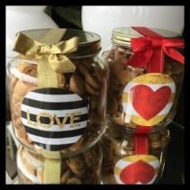 Half Gallon Cookie Jar Oh Sugar! Gourmet Cookies