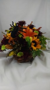 Halloween Basket of Fear Halloween, Home in Largo, FL | Rose Garden Florist