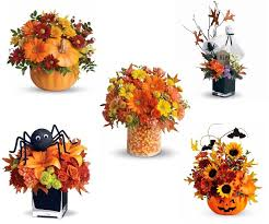 Click on HALLOWEEN for more  Fall Bouquets