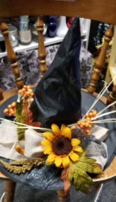 Halloween Centerpiece Silk Decor