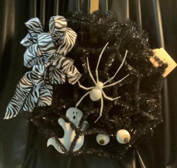 Halloween Deco Wreath WF-H002 Halloween Deco Mesh Wreath