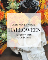 Halloween Designers Choice Fresh Flowers