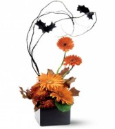 Halloween Glow Arrangement