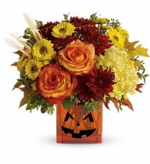 Halloween Glow Holiday Floral