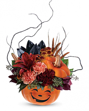 Halloween Magic Fresh in New Palestine, IN | Rose Lady Floral Design
