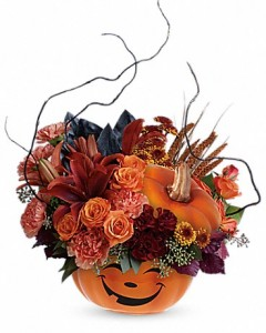 Halloween Magic Teleflora in Springfield, IL | FLOWERS BY MARY LOU INC