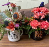 Halloween Mugs Fresh in Fowlerville, Michigan | ALETA'S FLOWER SHOP