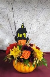 Halloween Pumpkin Bouquet
