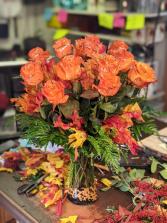 Halloween Roses Dozen Roses