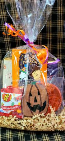 Halloween Treat Bag Gift Basket
