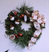 Hand Decorated Wreath